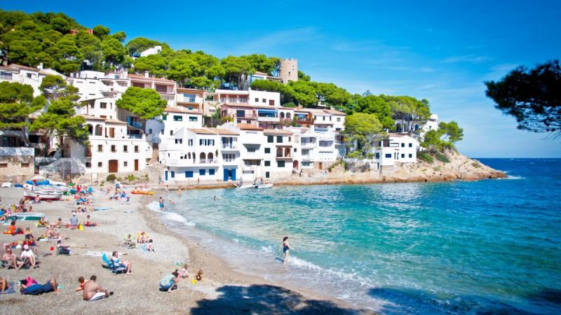 Mapa Costa Brava Playas.Las Mejores Playas De La Costa Brava Costa Brava Hotels